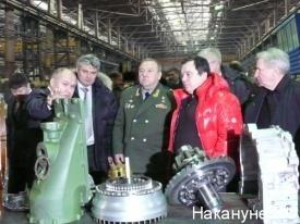 Владимир Шаманов на Курганмашзаводе