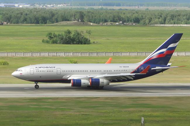 """Ил-96-300 RA-96008 """"Яков Моисеев"""" авиакомпании Аэрофлот"""