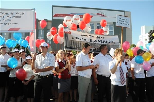 День железнодорожника (август 2012 г.)