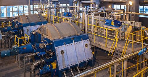 Новое оборудование технологической линии промывки и сортирования целлюлозы