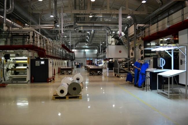 завод «ДАНАФЛЕКС-НАНО» открыт в ноябре 2011 г.