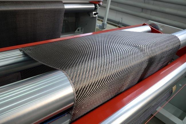 Установка контроля качества углеродных тканей.