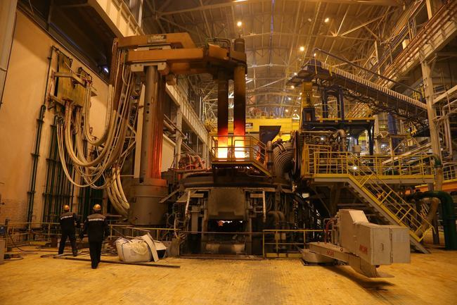 Электропечь нового завода