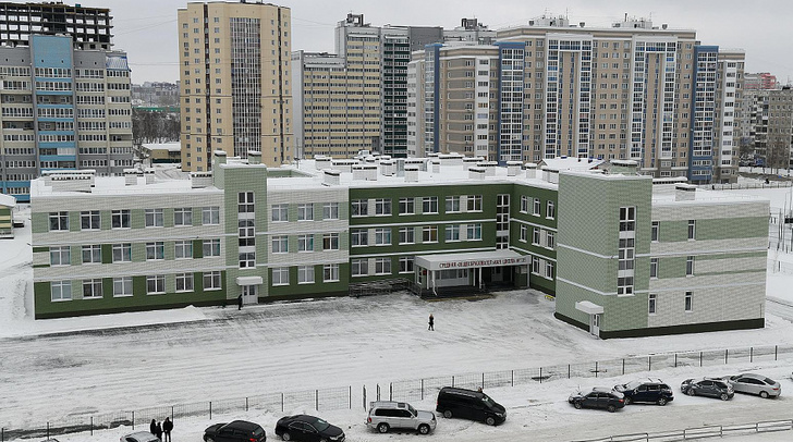 Новая школа на 550 мест открылась в Барнауле