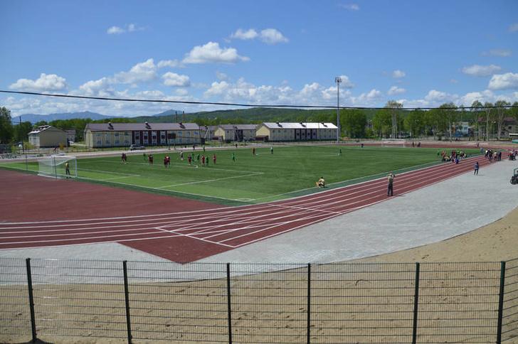 На Сахалине открыт новый стадион