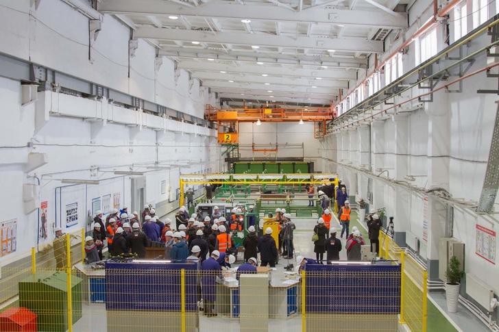 На Синарском трубном заводе открыт образовательный центр по обучению по заводским профессиям