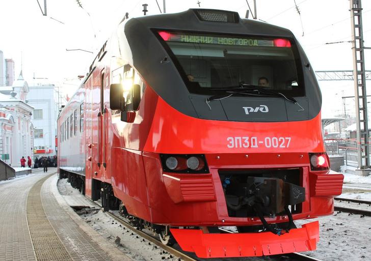 Новые пассажирские электропоезда ЭП3Д поступили в Нижний Новгород и Красноярск