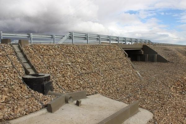 Реконструкция моста через ручей на трассе А-350 в Забайкалье завершена досрочно