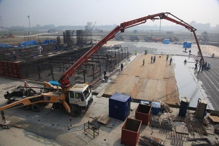 "Церемония заливки бетона на первой в Бангладеш АЭС ""Руппур"""