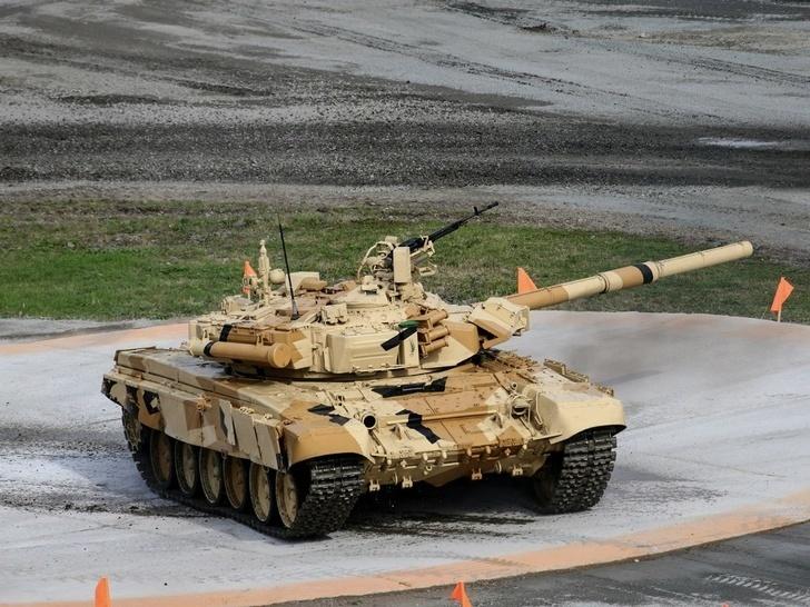 Российская Федерация завершила поставку 64 танков Т-90С Вьетнаму