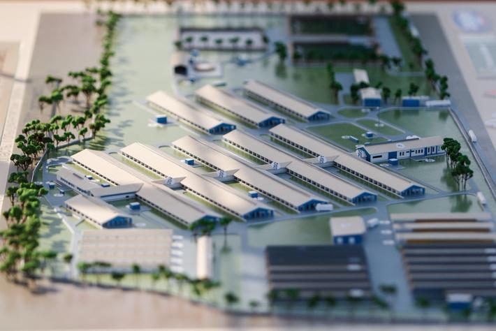 Первая очередь нового молочного комплекса открыта в Тюменской области