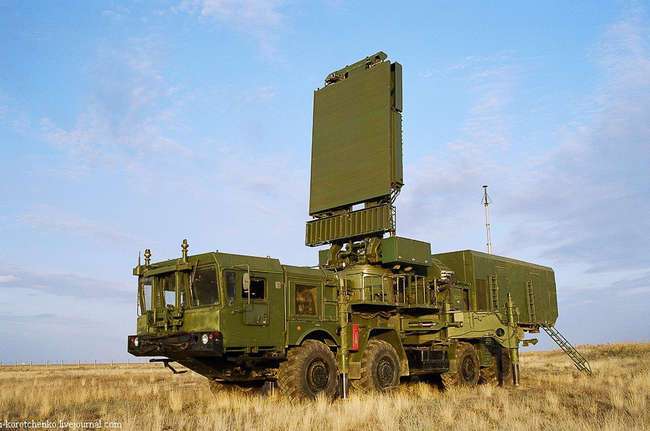 Мобильный радиолокатор 96Л6-1