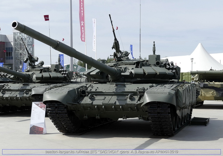 Т-72Б3 (фото с форума Армия-2019)