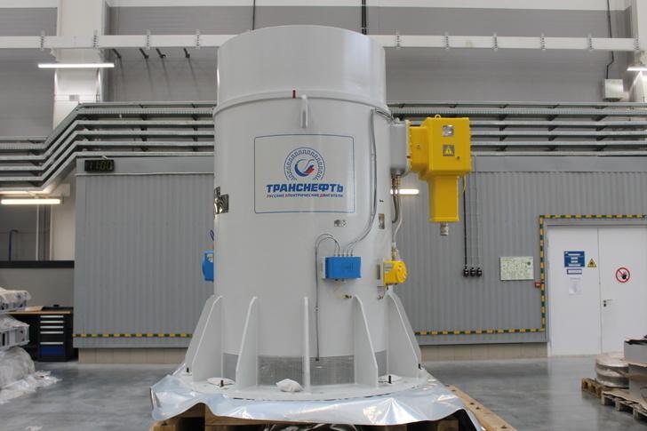 Первый двигатель производства АО «Русские электрические двигатели» введен в эксплуатацию