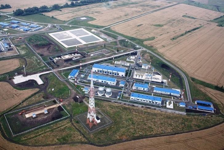 Нефтеперекачивающая станция НПС-8 (фото с сайта vnovoros.ru и материалов КТК)