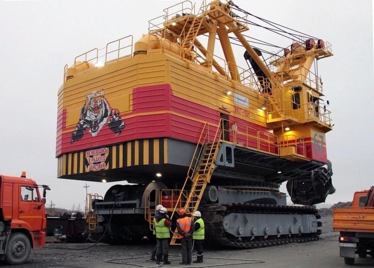 экскаватор ЭКГ-15М принятый в эксплуатацию в ноябре 2018 г. ООО «Карельский окатыш»