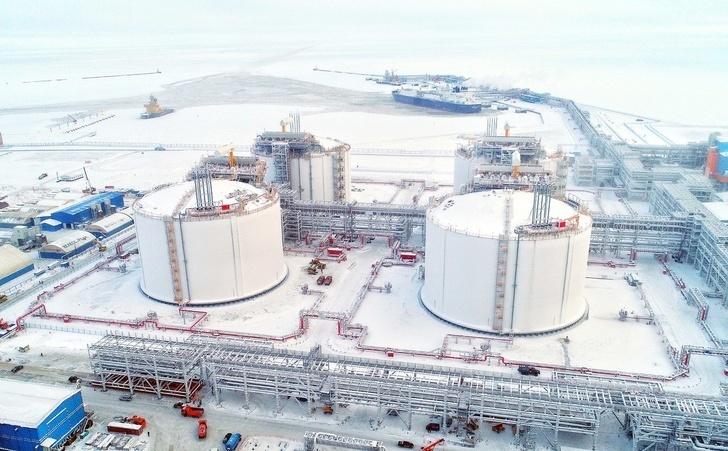 В порту Сабетта в I квартале 2018 оформили 1 млн тонн СПГ