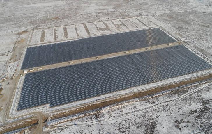 первая очередь солнечной электростанции