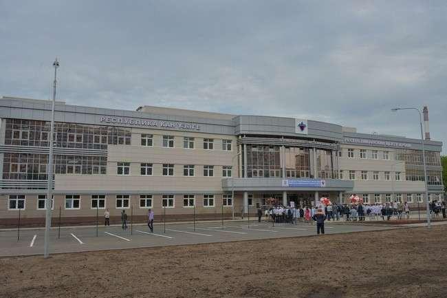 Гастроэнтерологическое отделение в больнице управления делами президента