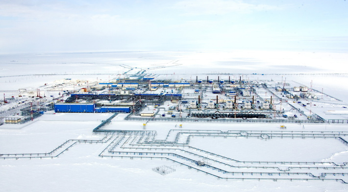 Газовый промысел №2 Бованенковского месторождения