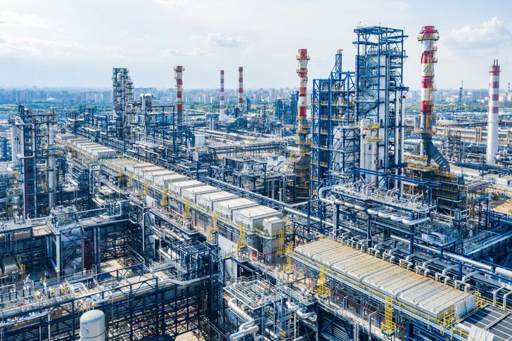 Новый производственный комплекс Московского нефтеперерабатывающего завода