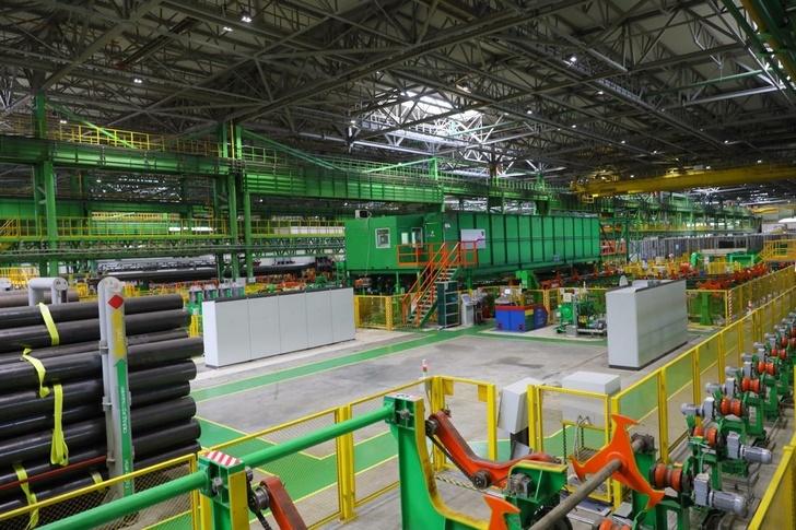 Новый трубный производственный комплекс на Выксунском металлургическом заводе