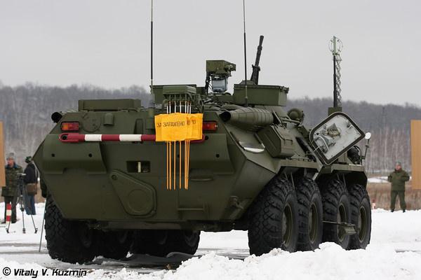 Фото разведывательной машины РХМ-6 (фото Виталия Кузьмина)