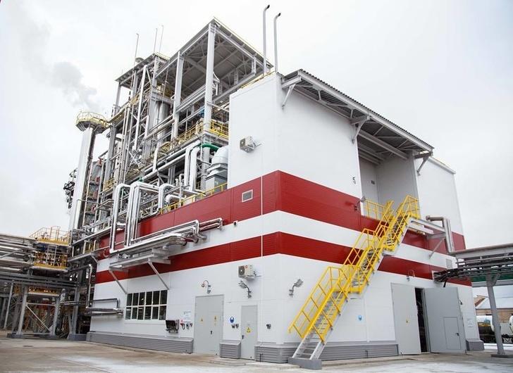 Новгородское предприятие «Акрон» запустило новый агрегат мощностью 600 тонн удобрений в сутки