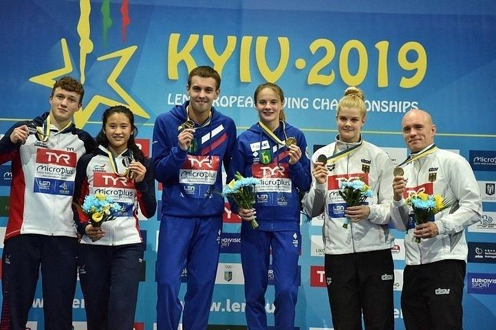 Украинка Федорова завоевала серебро чемпионата Европы по прыжкам в воду - Цензор.НЕТ 9307