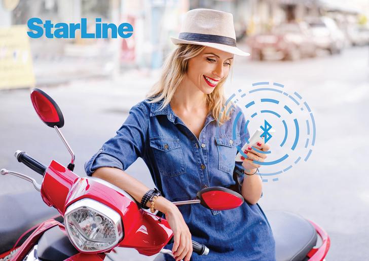 Новый иммобилайзер StarLine V66 eco для мотоциклов и скутеров