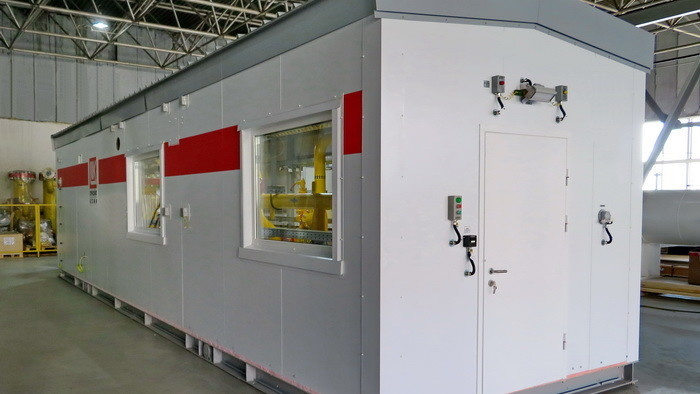 Газорегуляторная установка – пункт подготовки газа