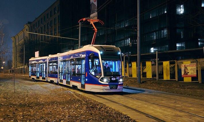 Низкопольный трамвай модели 71-931 Витязь