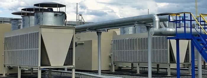 Аппараты воздушного охлаждения (АВО) компрессорных установок