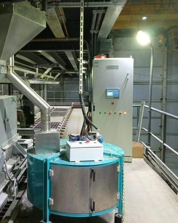 Делитель, накопитель проб и шкаф управления Системы СПК-М180
