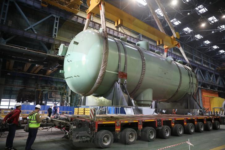 Завод «Атоммаш» приступил к отгрузке парогенераторов для АЭС «Куданкулам»