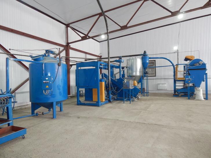В Кайбицком районе Татарстана открыли завод по переработке рапса