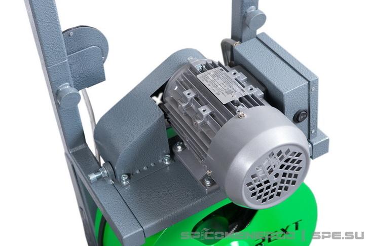 Прочистной аппарат REXT (винт натяжения приводного ремня барабана)