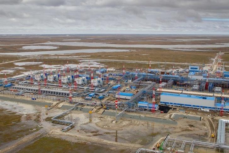 Запущен третий газовый промысел Бованенковского месторождения и газопровод «Ухта–Торжок–2»
