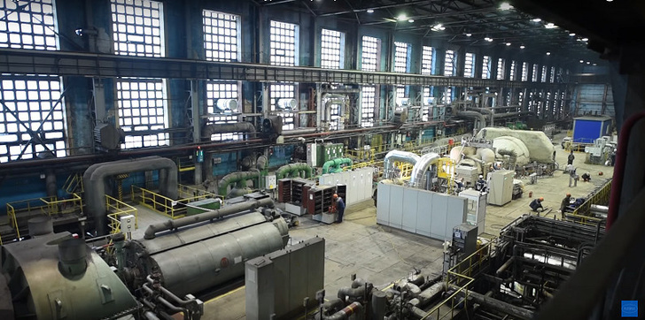 Новолипецкий металлургический комбинат ввёл в строй новый турбогенератор №5