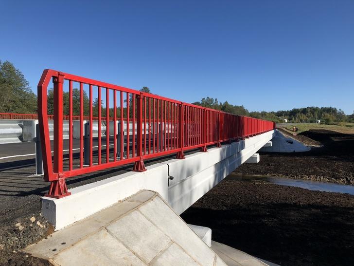 Мост через реку Исса на автодороге Р-23 отремонтирован и введен в эксплуатацию