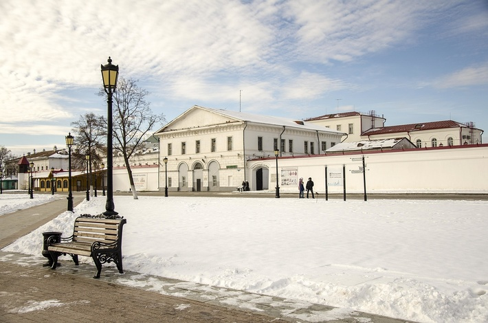 Тюремный замок - бывшая каторжно-пересыльная тюрьма, а ныне - музей.