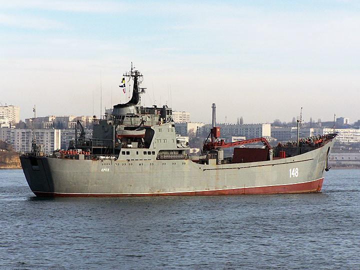 """""""Орск"""" – большой десантный корабль проекта 1171"""