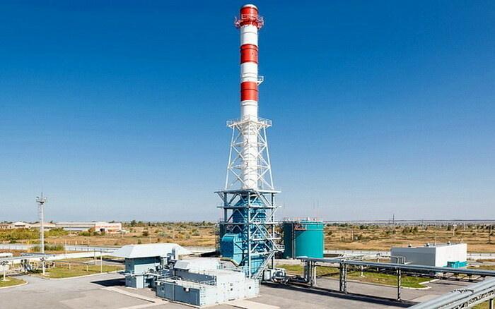 Газотурбинный энергоблок ГТЭС-16ПА с котлом-утилизатором