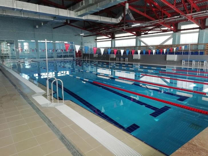 В Ленинградской области открылся новый спортивный комплекс с бассейном