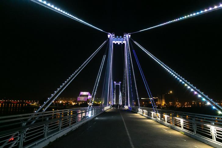 СУЭК оборудовала в Красноярске системой подсветки два культурных объекта