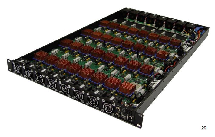 Вычислительный блок Ригель, 2011 год