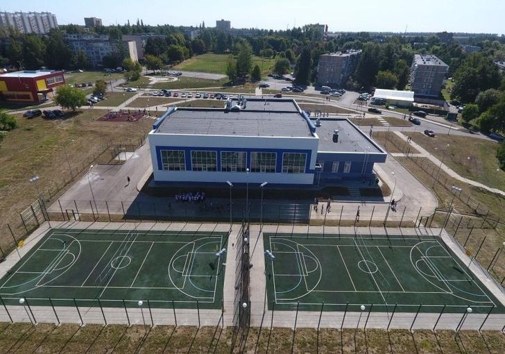 Новый спортивный комплекс открылся в Московской области