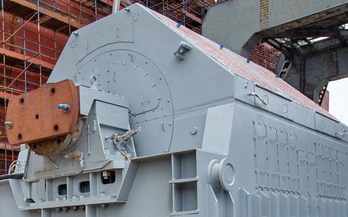 Гребной электродвигатель весом более 300 тонн для новейших ледоколов проекта 22220