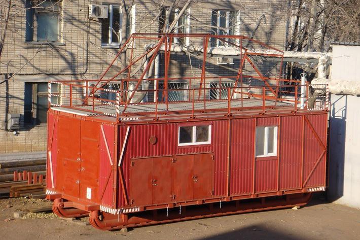 Новое универсальное буровое здание ДТХЗ