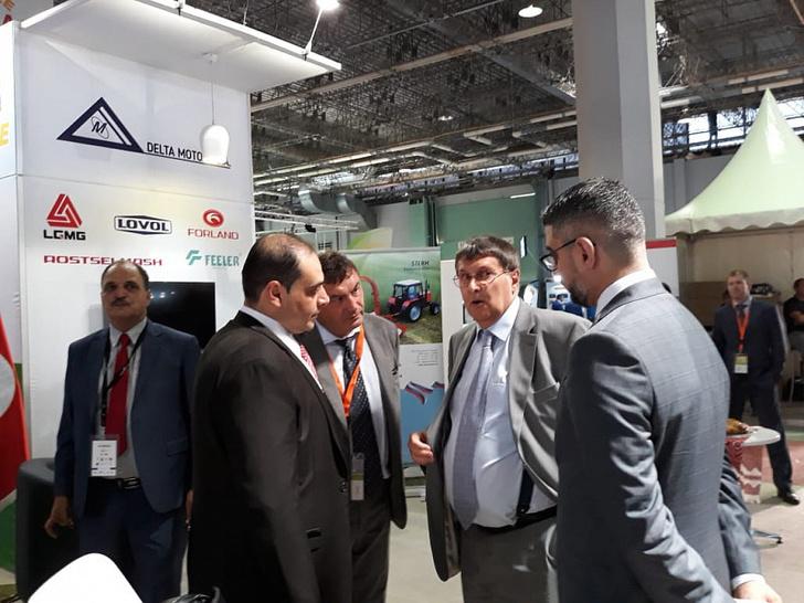 Ростсельмаш принял участие в международной выставке сельского хозяйства и рыболовства SIAMAP 2019, прошедшей в сентябре в столице Туниса